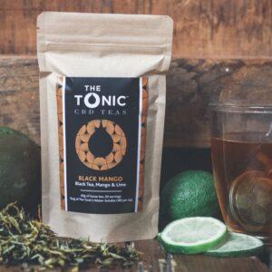 Loose Tea Black Mango by The Tonic Tribe
